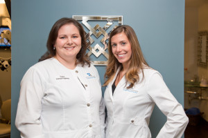 Traci Stowers, RDH and Ashley Hubbard, RDH, our Licensed Periodontal Therapists