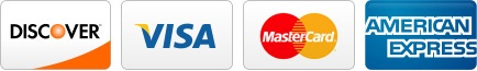 We accept Discover, Visa, Mastercard, American Express, CareCredit and Springstone